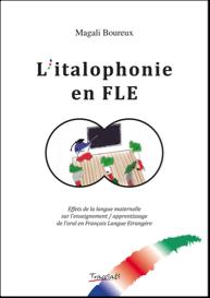 copertina del volume Italophonie en FLE di Magali Boureux