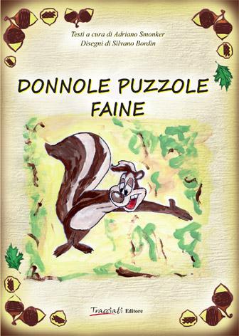 Copertina del volume Donnole puzzole faine di Adriano Smonker