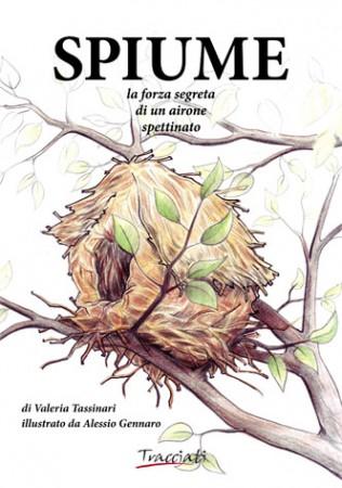 Copertina del volume Spiume di Valeria Tassinari