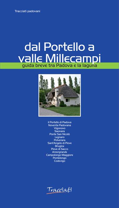 copertina della guida Dal Portello a valle Millecampi